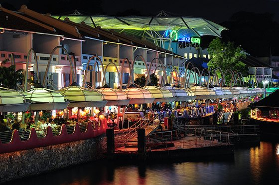 clarke quay singapore nightlife