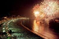 Copacabana Beach - New Year's Eve - Rio de Janeiro