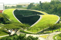 Green Roof - Nanyang Art School