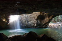Natural Bridge Falls - Springbrook