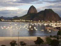 Praia de Botafogo - Botafogo Beach and Sugar Loaf