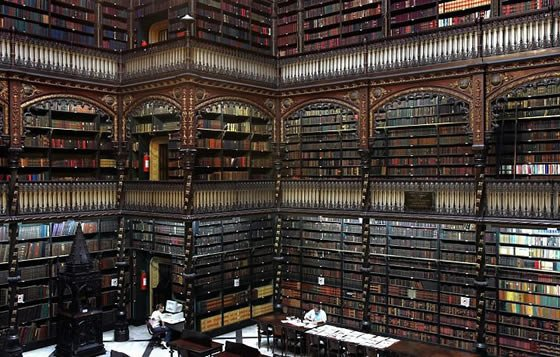 Real Gabinete Português de Leitura - Royal Portuguese Reading Room