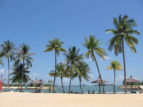 Siloso Beach - Sentosa