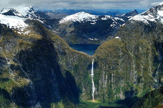 Sutherland waterfall