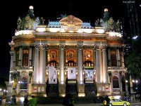 Teatro Municipal do Rio de Janeiro - Rio de Janeiro Theater