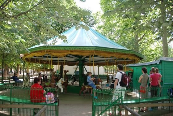 jardin du luxembourg carousel - Jardin Du Luxembourg Paris