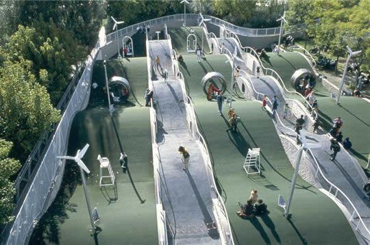 Parc De La Villette Top Fun Places In Paris For Kids