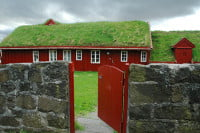 Green Roof House in Tórshavn