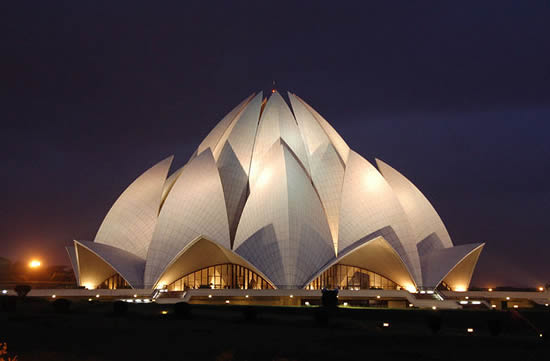Lotus Temple - Bahá'í House of Worship - New Delhi