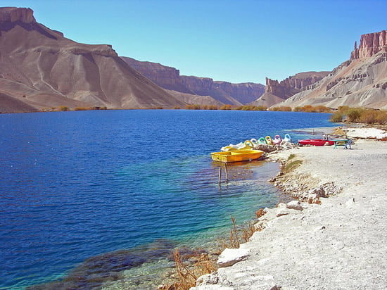 Band-e Amir Lakes
