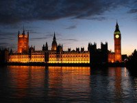 The Big Ben and the Houses of Parliament