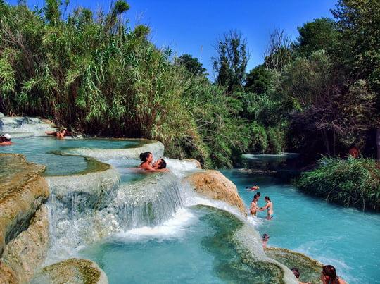 Terme Di Saturnia Jacuzzis In Paradise World Top Top
