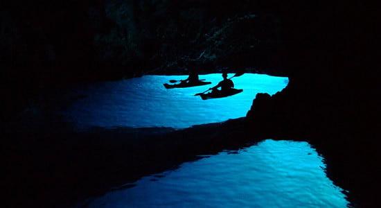 Bisevo Blue Cave or Modra špilja