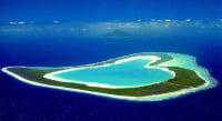 Heart-shaped Tupai Island