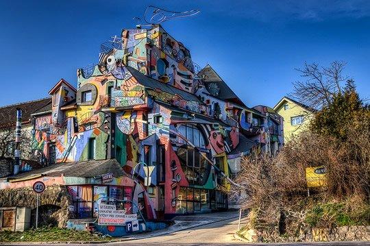 Отель духе или сумасшедший отель - Словакия