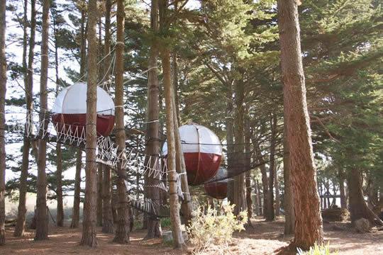 Ле-ни-дю-Parcabout дерево дом отель