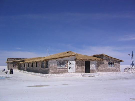 Паласио-де-Саль отель (соли Дворец) - Боливия
