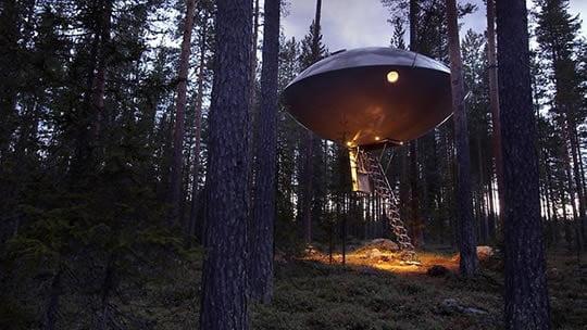 Номер НЛО - TreeHotel