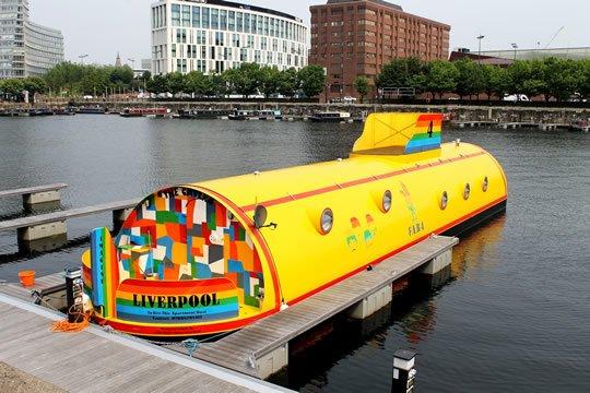 Желтая Подводная Лодка Отель