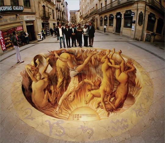 Phaeton – 3D Street Art by Kurt Wenner
