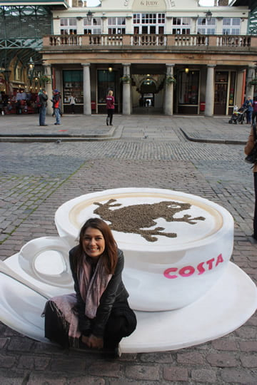 Costa - Cup of Cappuccino - 3D Artwork by Manfred Stader