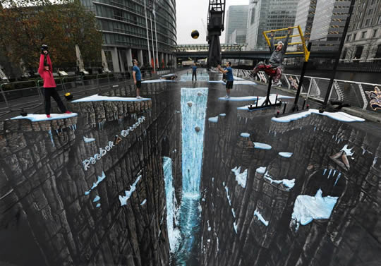 Reebok and Crossfit – 3D Street Painting by 3D Joe and Max