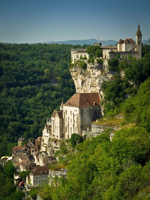 Rocamadour Cliff-Side Town