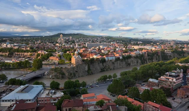 Tbilisi Cliff Georgia
