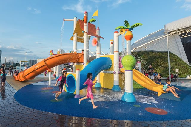 Free Mall Water Play Areas Singapore For Kids World