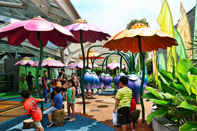 Free Outdoor Playgrounds In Malls Singapore For Kids