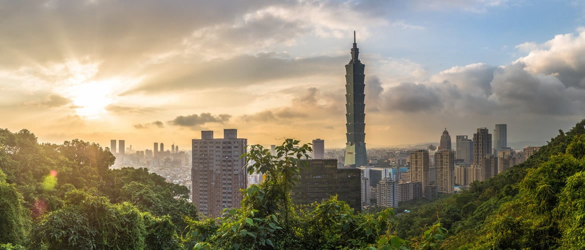 Taipei 101 Sunrise from Elephant Mountain