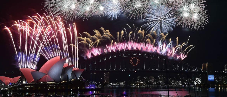 New Years Eve Fireworks Slider